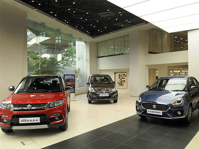 Maruti sells 13,865 units in the local market in May